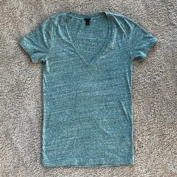 J. Crew Tops - Jcrew v-neck slub cotton tee t-Shirt NWOT